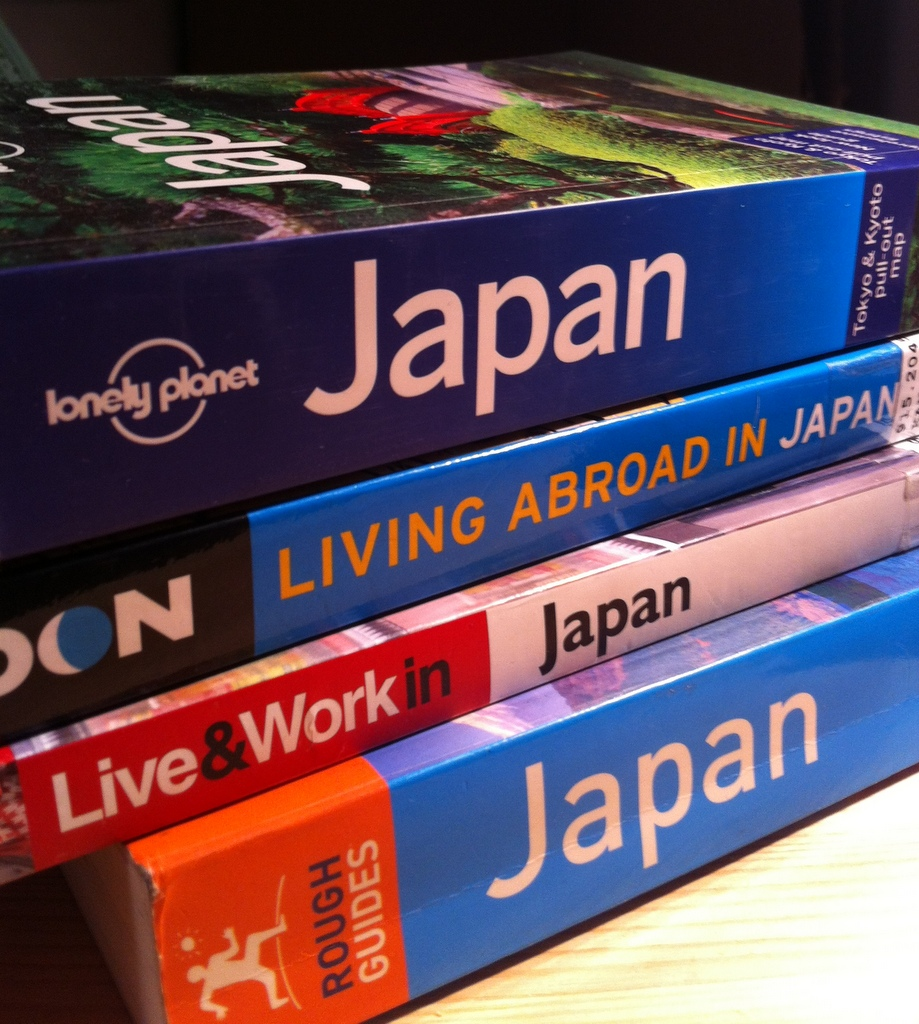 Japan guidebooks