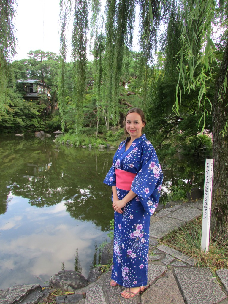 My first yukata.