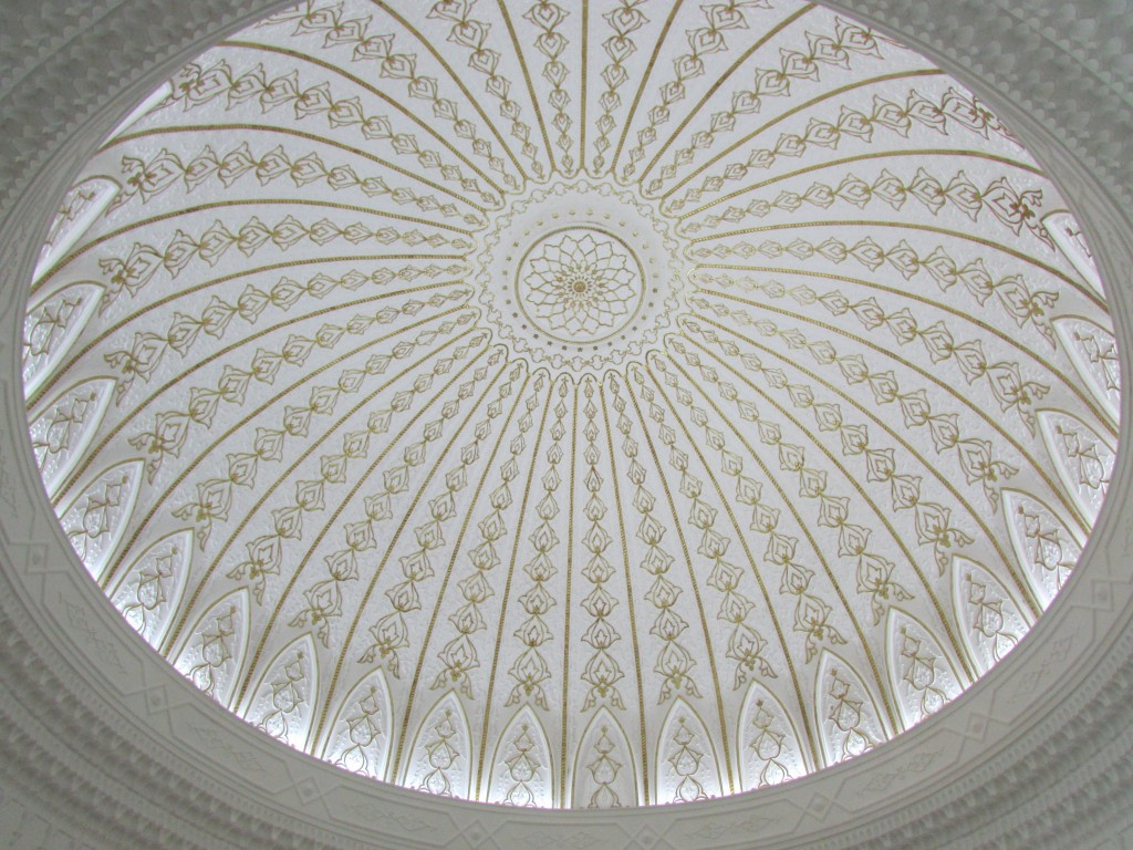 Domed ceiling in Kuala Lumpur's Islamic Arts Museum.