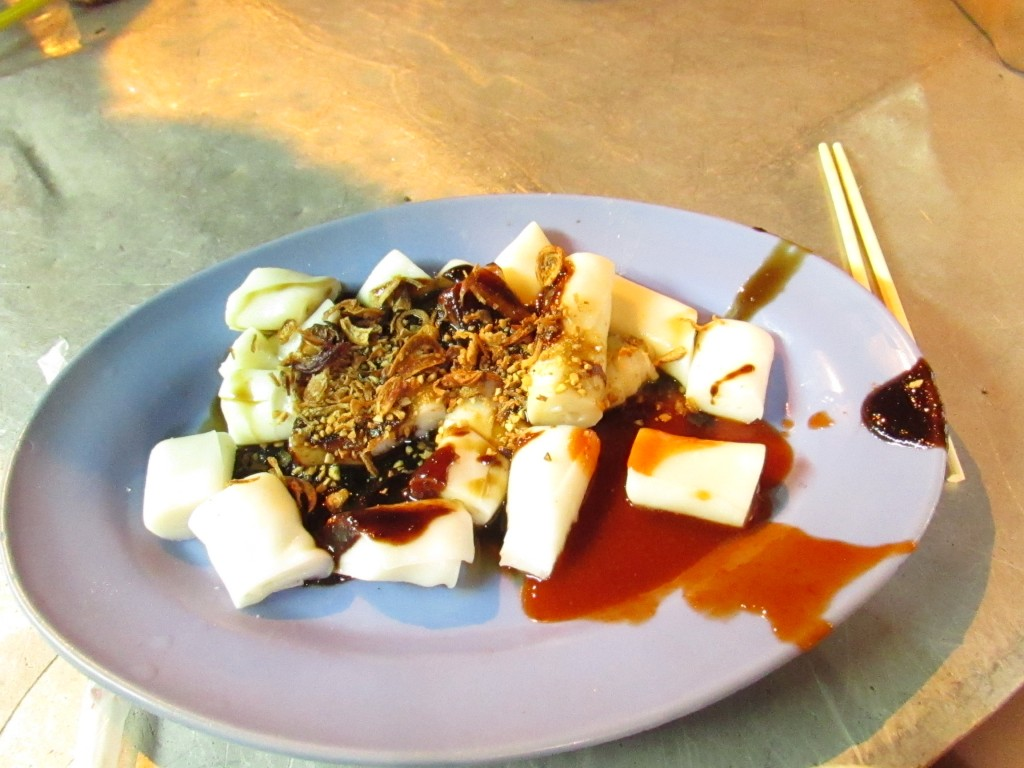 Chee Cheong Fun on Georgetown's Chulia Street.