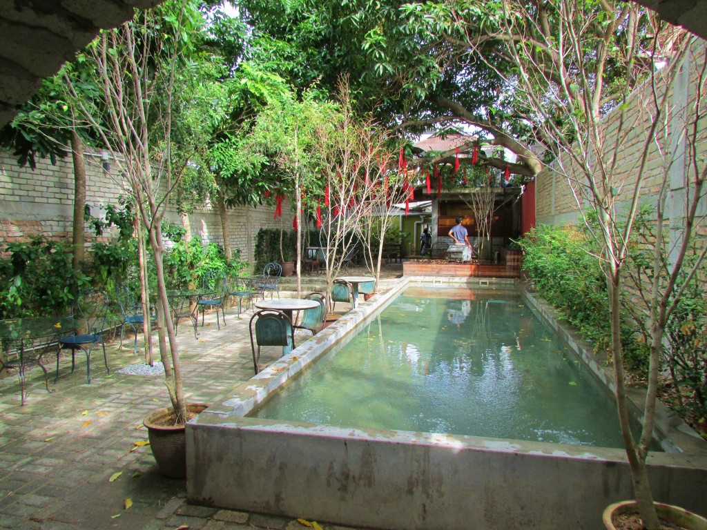The courtyard at China House, in Georgetown, Penang.