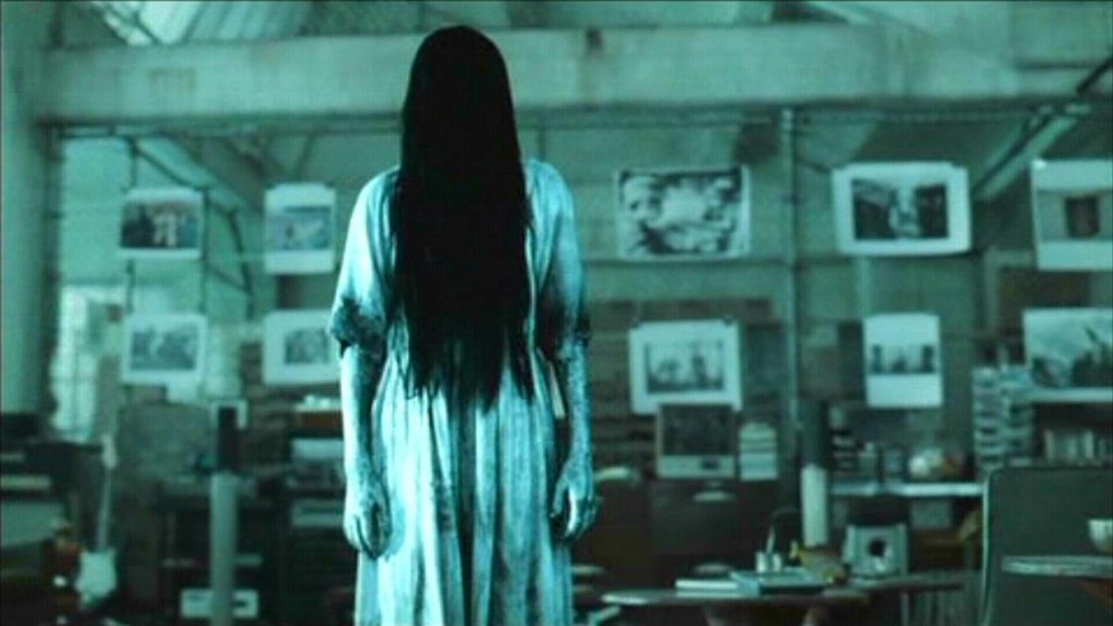My young students sometimes call me Sadako when my hair is really messy.