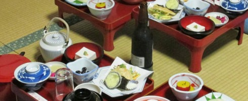 As this is Japan, they will serve beer with your shojin ryori temple food.