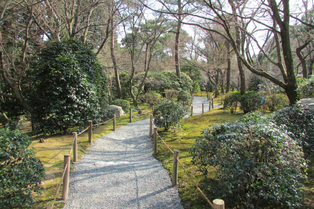 Get lost in the temple's grounds after visiting the popular rock garden.