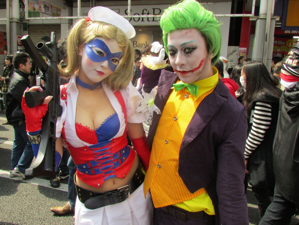 An evil nurse with The Joker?